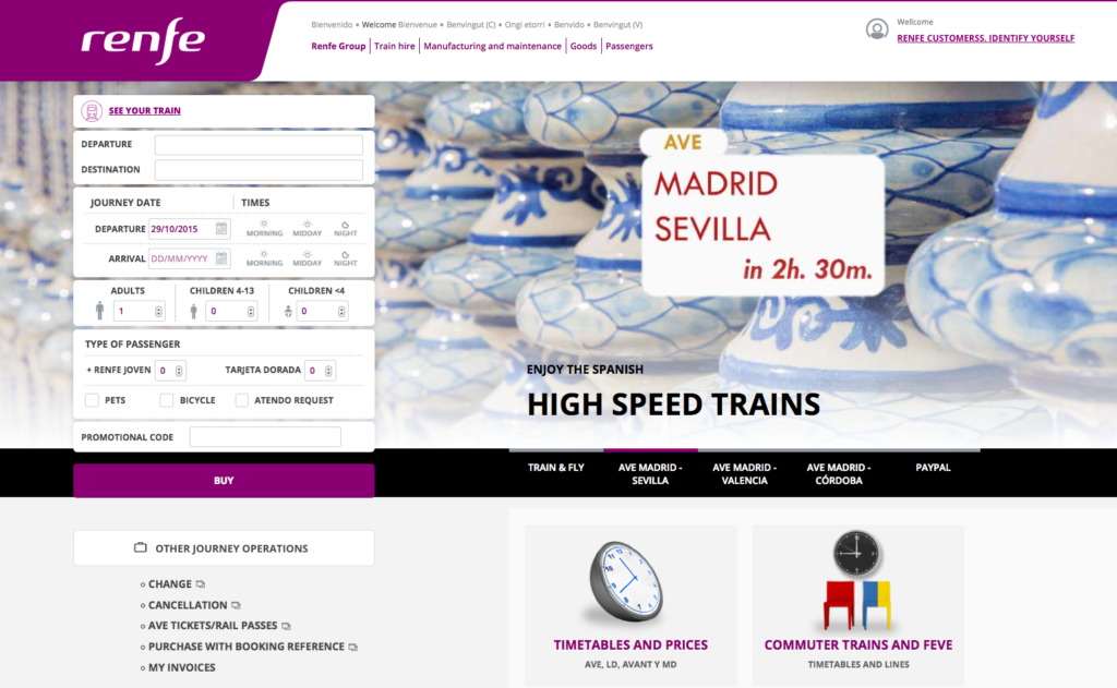 travel tips traveling train spain